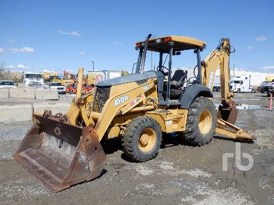 2004 JOHN DEERE 410G 4x4 Loader Backhoe
