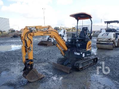 2017 HYUNDAI ROBEX17Z-9A Mini Excavator (1 - 4.9 Tons)