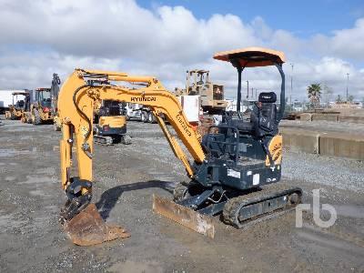 2018 HYUNDAI ROBEX17Z-9A Mini Excavator (1 - 4.9 Tons)
