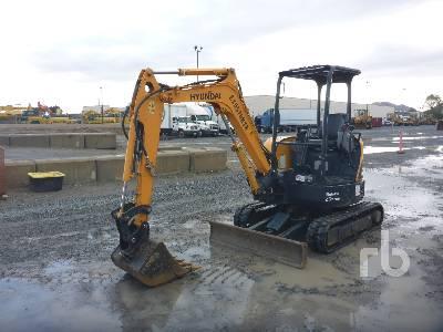2017 HYUNDAI ROBEX 25Z9AK Mini Excavator (1 - 4.9 Tons)