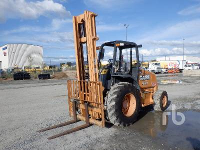 2014 CASE 586H 6000 Lb Rough Terrain Forklift