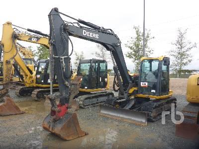 2016 JOHN DEERE 85G Midi Excavator (5 - 9.9 Tons)