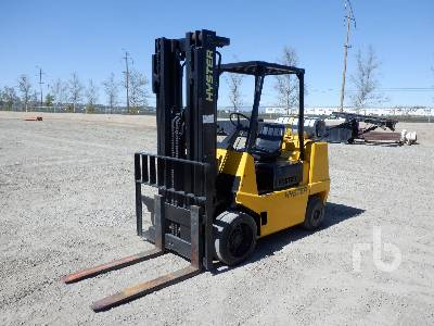 1990 HYSTER S80XL 7700 Lb Forklift