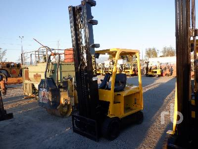 HYSTER E60XN-33 5500 lb Electric Forklift Parts/Stationary Construction-Other