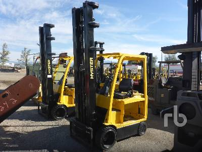 HYSTER E60XN33 6000 Lb Electric Forklift Parts/Stationary Construction-Other