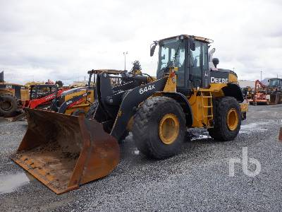 2016 JOHN DEERE 644K Wheel Loader