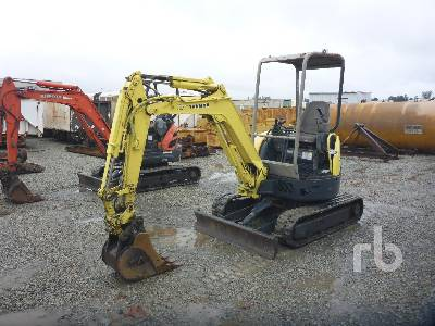 2006 YANMAR VIO152A Mini Excavator (1 - 4.9 Tons)