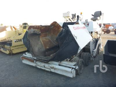 1995 CEDARAPIDS CR351 Pneumatic Asphalt Paver