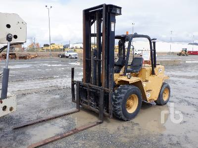 CATERPILLAR RC60 6000 Lb Rough Terrain Forklift