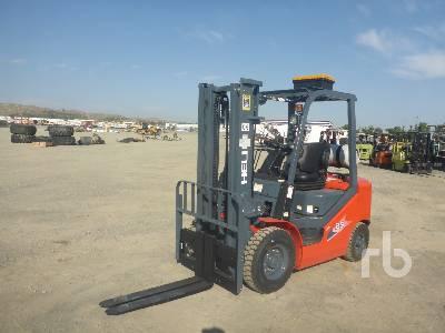 2020 HELI CPYD25-M1H 5,000 lb Forklift Forklift
