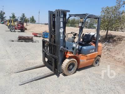 2011 HELI CPYD25TY 4600 Lb Forklift