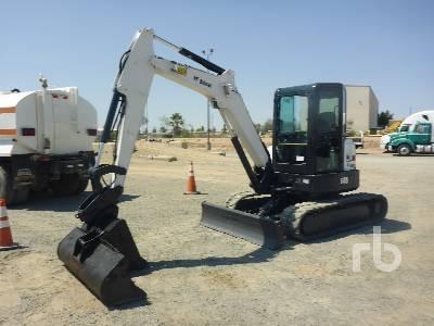 2016 BOBCAT E45 Midi Excavator (5 - 9.9 Tons)