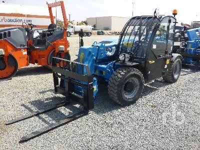 2017 GENIE GTH2506 5500LB  4X4X4 Telescopic Forklift