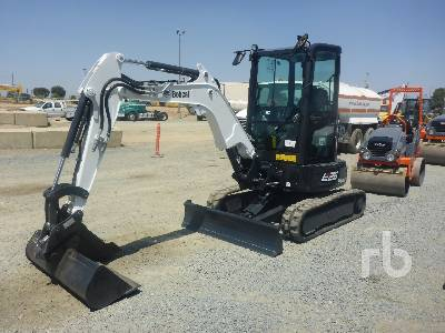 2019 BOBCAT E26 Mini Excavator (1 - 4.9 Tons)