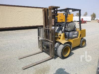 1996 CATERPILLAR DP30 5800 Lb Forklift