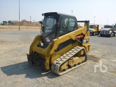 2017 CATERPILLAR 259D 2 Spd High Flow Multi Terrain Loader