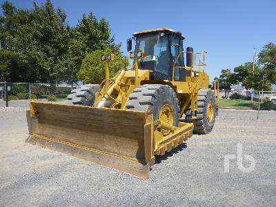 2008 CATERPILLAR 824H Wheel Dozer