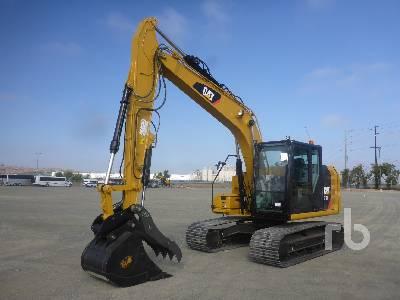 2017 CATERPILLAR 313FL Hydraulic Excavator