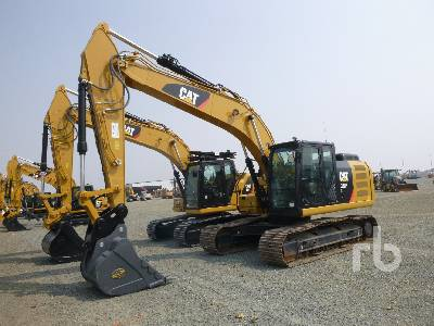 2018 CATERPILLAR 320FL Hydraulic Excavator