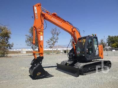 2015 HITACHI ZX135US-5B Hydraulic Excavator