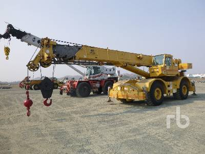 1991 GROVE RT745 45 Ton 4x4x4 Rough Terrain Crane