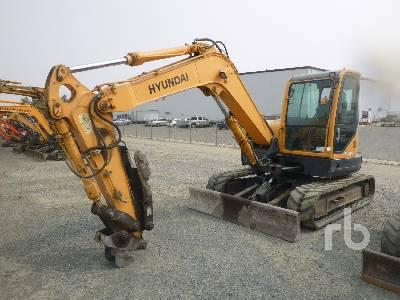 2013 HYUNDAI R80CR-9 Robex Mini Excavator (1 - 4.9 Tons)