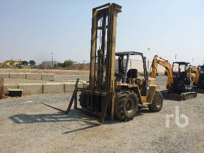 1985 CATERPILLAR R80 8000 Lb Rough Terrain Forklift