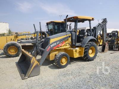 2014 JOHN DEERE 310K EP 4x4 Loader Backhoe