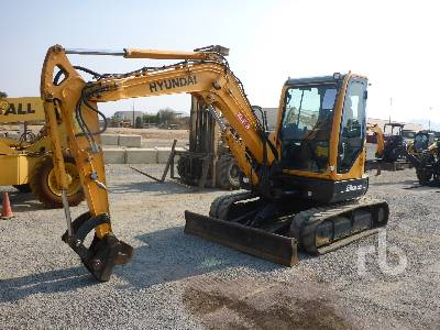 2015 HYUNDAI ROBEX60CR-9A Mini Excavator (1 - 4.9 Tons)