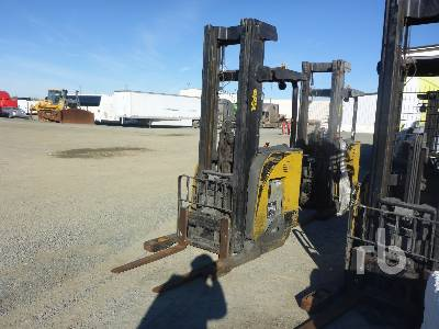 YALE NR045EBNS36TE11 4500 Lb Stand Up Electric Forklift