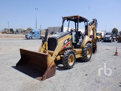 2007 CATERPILLAR 420E Loader Backhoe