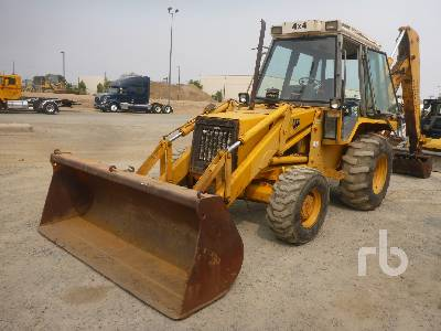 JCB 4x4 Loader Backhoe