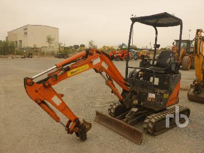 2015 HITACHI ZX17 Mini Excavator (1 - 4.9 Tons)
