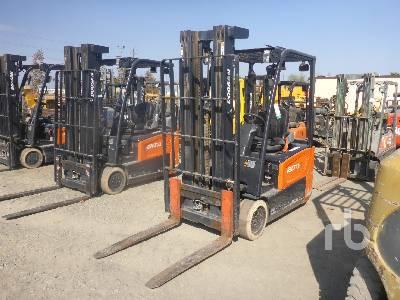 2017 DOOSAN B20T-7 3350 Lb Electric Forklift