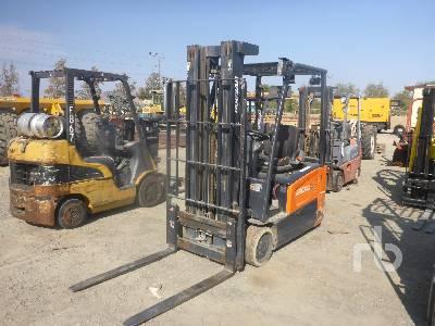 2017 DOOSAN B20T-7 3550 Lb Electric Forklift