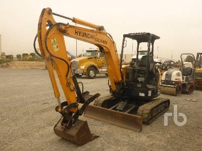 2017 HYUNDAI R35Z-9A Mini Excavator (1 - 4.9 Tons)