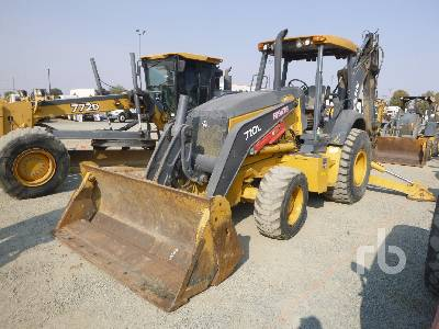2016 JOHN DEERE 710L 4x4 Loader Backhoe