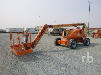 2005 JLG 600AJ 4x4 Articulated Boom Lift