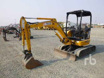 2007 JCB 8025 Mini Excavator (1 - 4.9 Tons)