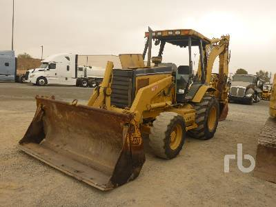 2004 CATERPILLAR 446D 4x4 Loader Backhoe