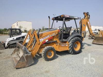 2016 CASE 580N EP 4x4 Loader Backhoe
