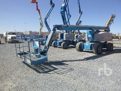 2007 GENIE Z80/60 4x4 Articulated Boom Lift