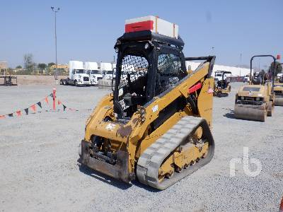 2014 CAT 289D High Flow Compact Track Loader