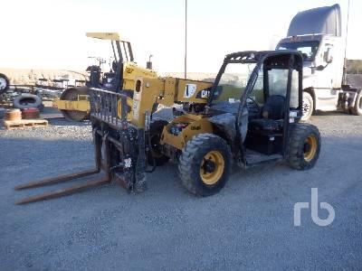2013 CATERPILLAR TH255 5500 Lb Telescopic Forklift