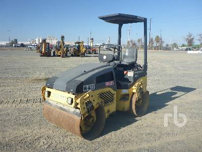 2005 BOMAG 120AD Tandem Vibratory Roller