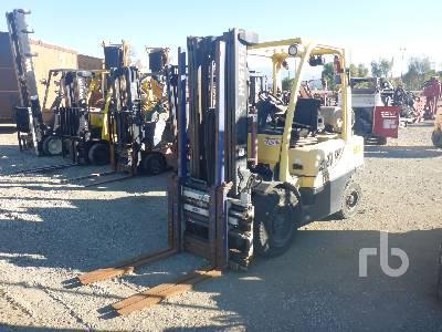 2014 HYSTER H60FT 6000 Lb Forklift