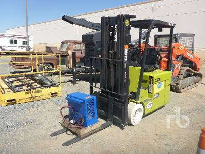 2015 CLARK TMX17 3100 Lb Ride On Electric Forklift