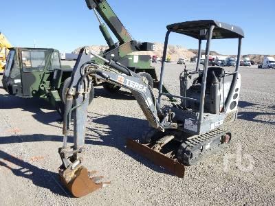 TEREX TC16 Mini Excavator (1 - 4.9 Tons)