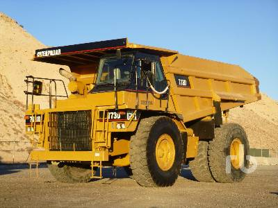 1996 CATERPILLAR 773D Rock Truck