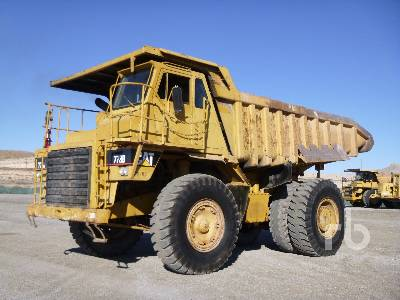 1980 CATERPILLAR 773B Rock Truck